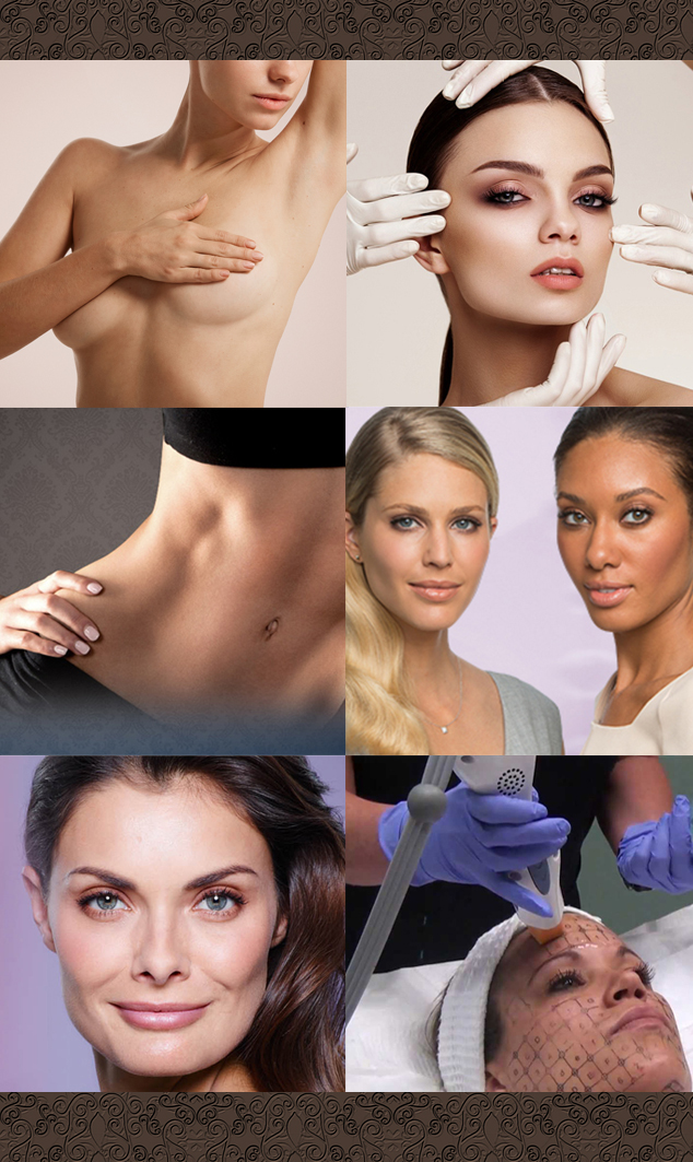 Dr. Kenneth Wolf, MD: Plastic Surgery – Cosmetic – Laser Center of West Bloomfield, MI - List of procedures